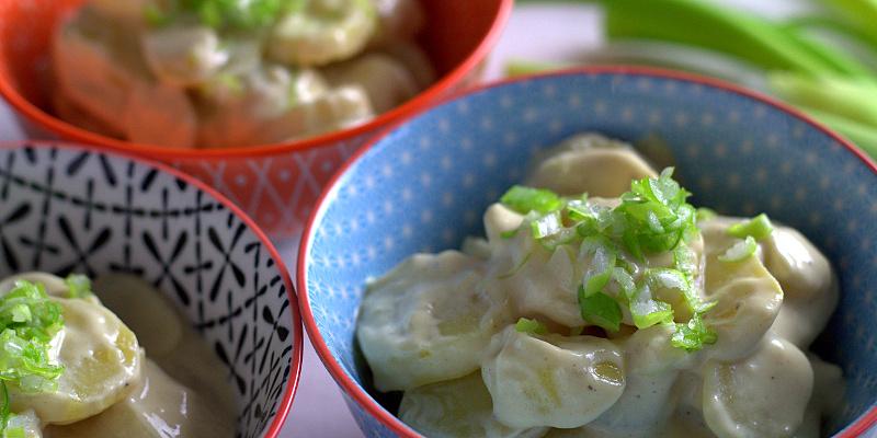 Kartoffelsalat med forårsfornemmelser