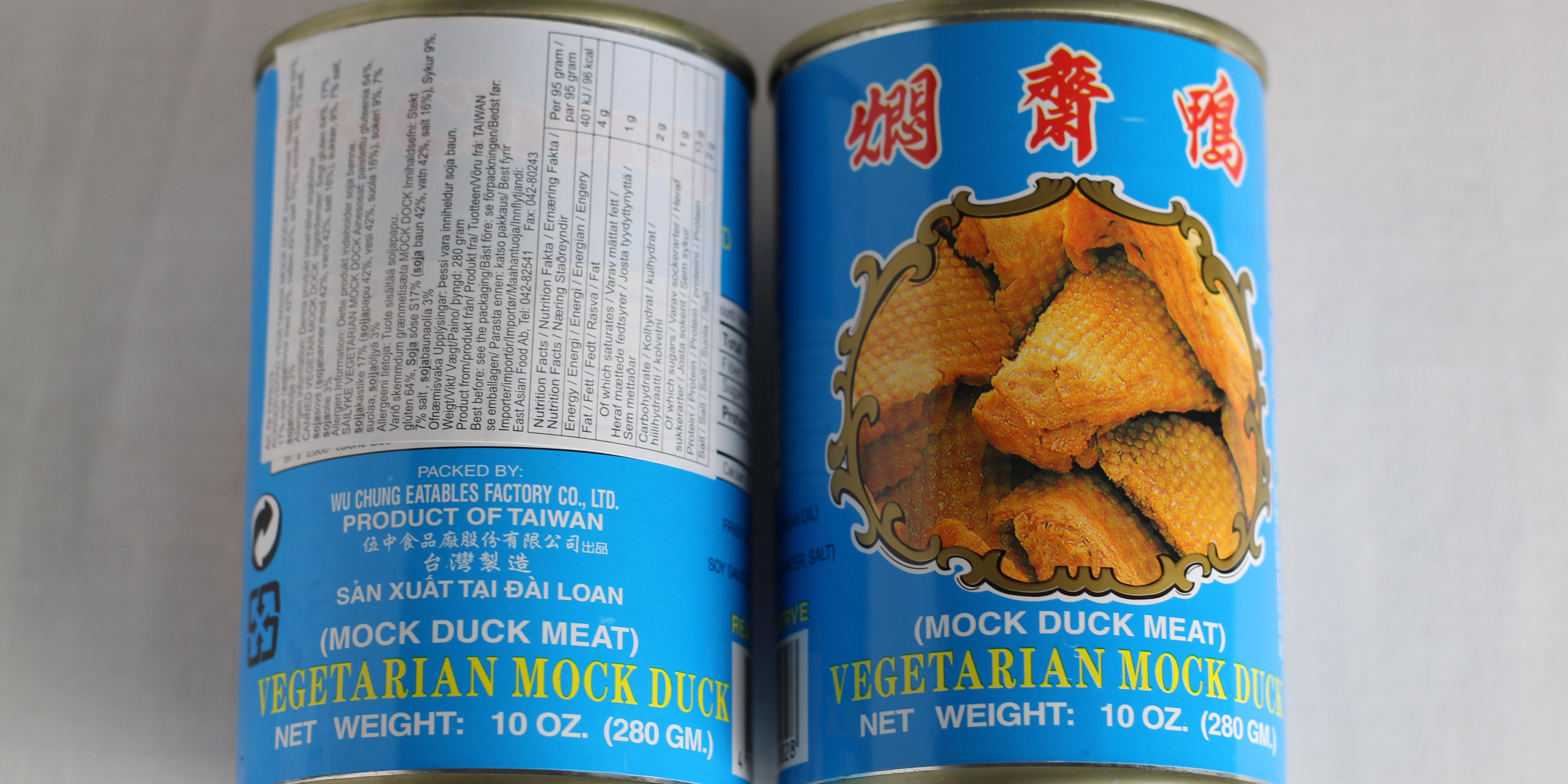 WuChung Mock Duck