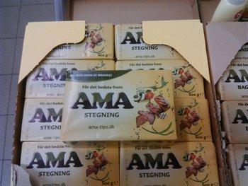 Ama-stegning-margarine-smør-skummetmælk-skummetmælkspulver